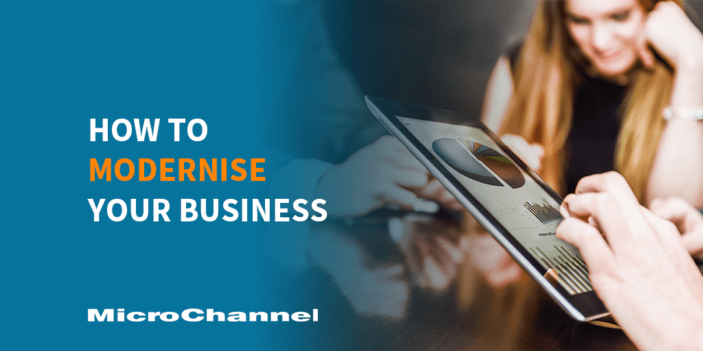 how to modernise your business