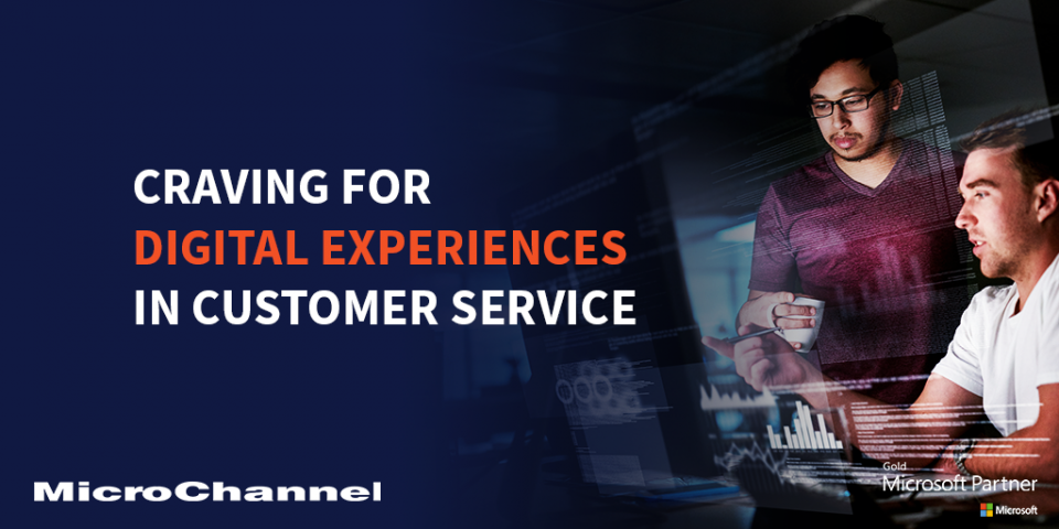 digital experiences in customer service