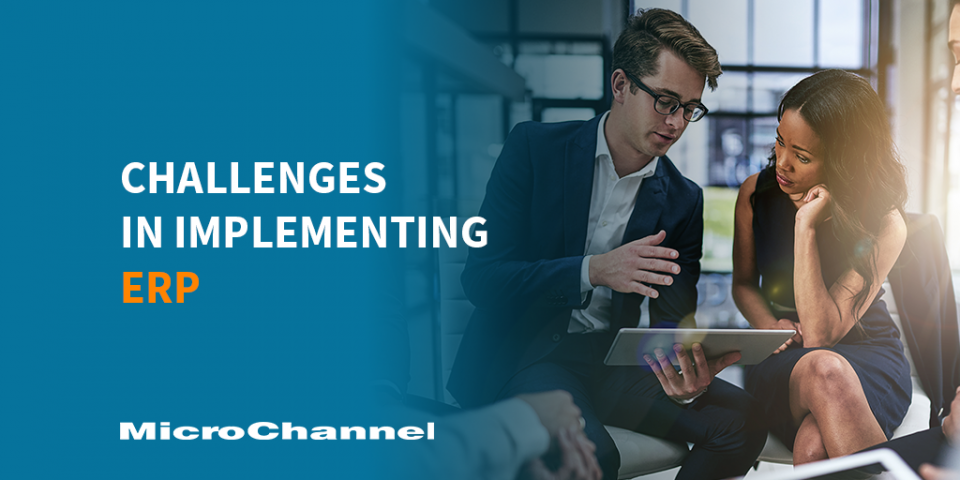 challenges in implementing enterprise resource planning