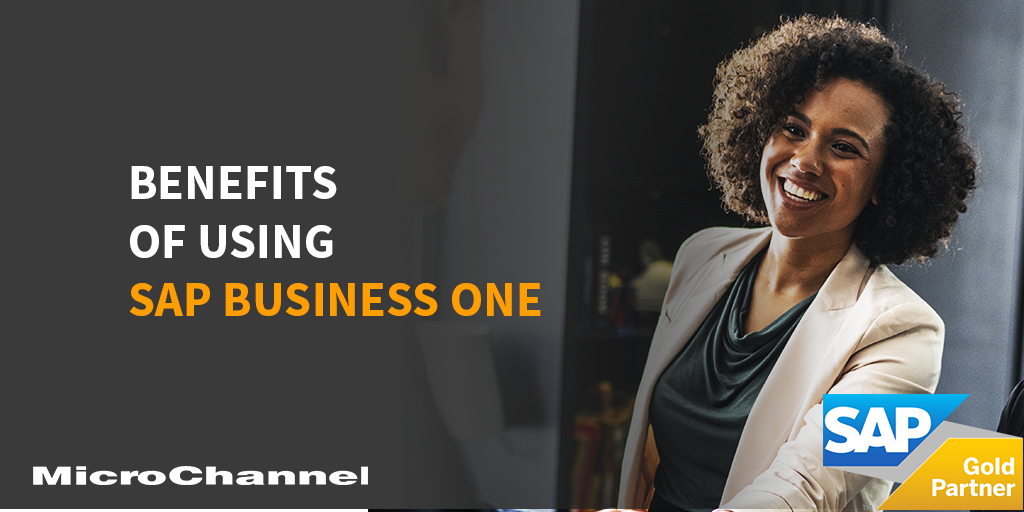 benefits of using sap business one