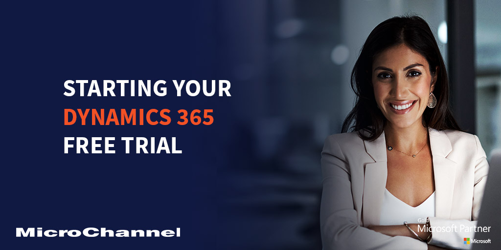 Starting Your Dynamics 365 Free Trial