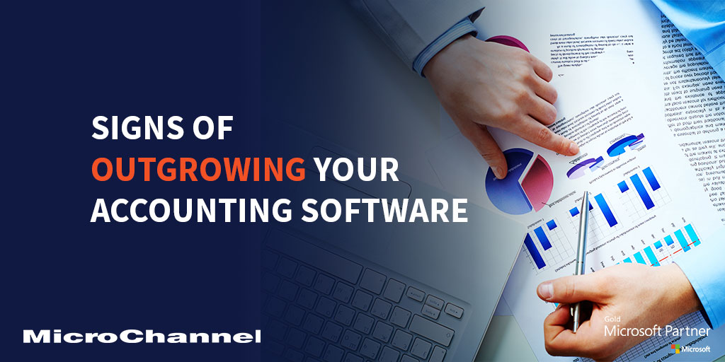 signs of outgrowing your accounting software
