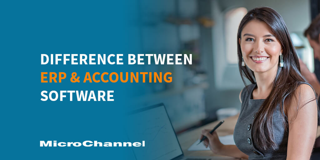 difference between erp and accounting