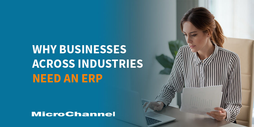 businesses across industries need an erp