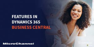 business central functionalities