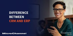 difference between crm and erp
