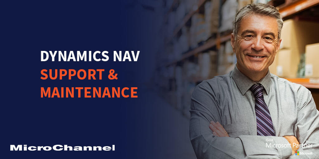 microsoft dynamics nav support