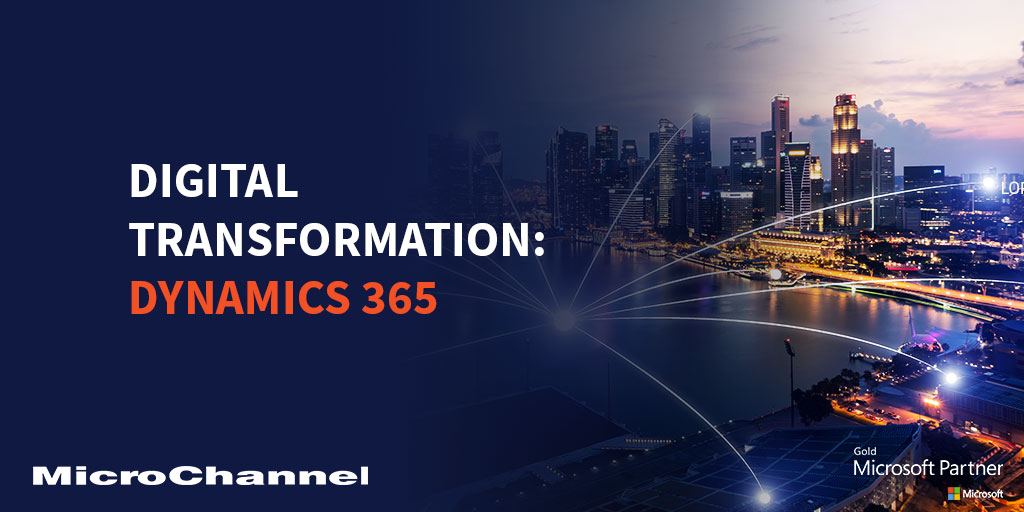 digital transformation dynamics 365