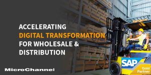 accelerating digital transformation for wholesale and distribution
