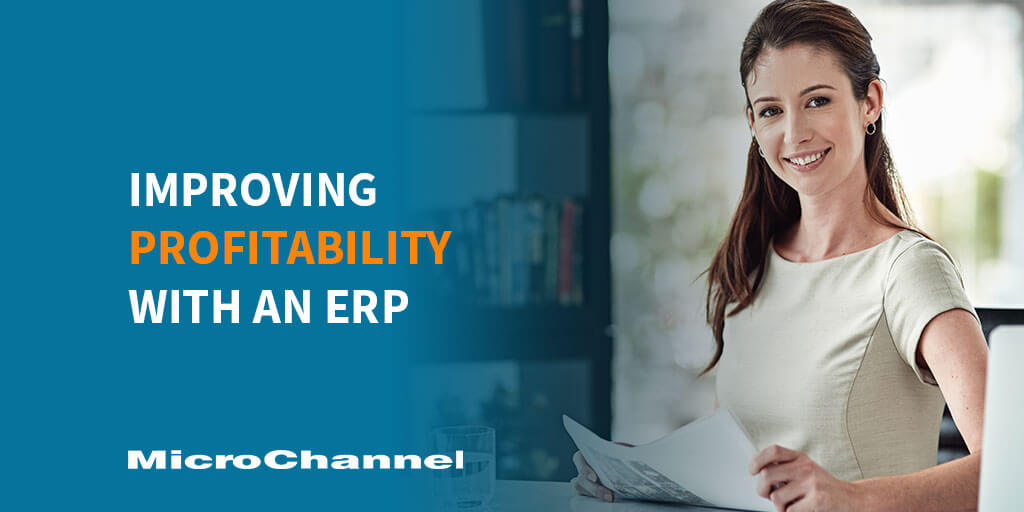 improving profitability with an ERP
