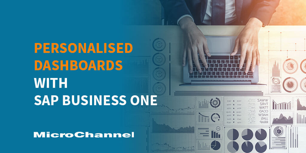 personalised dashboards sap business one
