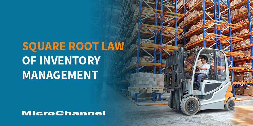 square root law of inventory management