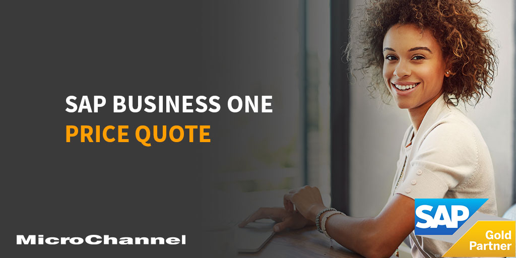 sap business one price quote
