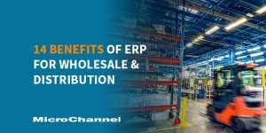 14 benefits of erp for wholesale and distribution