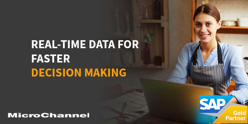real time data for faster decision making