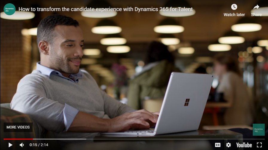 Transform the candidate experience