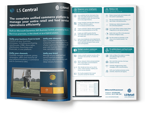 LS Central Brochure | MicroChannel