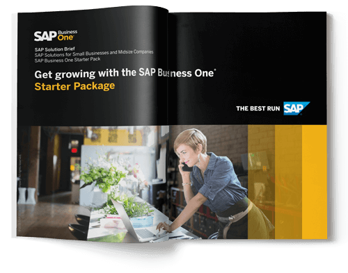 SAP Business One Starter Pack Brochure